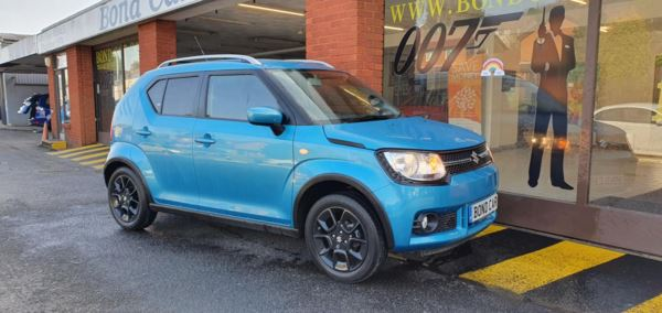2018 (67) Suzuki Ignis 1.2 Dualjet SZ-T 5dr AGS Auto 2018 (Very Low Mileage) For Sale In Swansea, Glamorgan