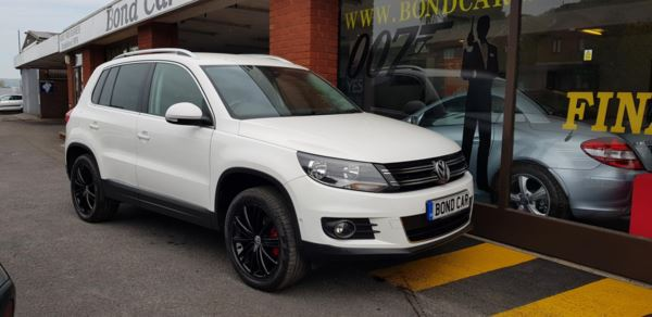 2012 (12) Volkswagen Tiguan 2.0 TDi BlueMotion Tech Sport 5dr 4x4 For Sale In Swansea, Glamorgan