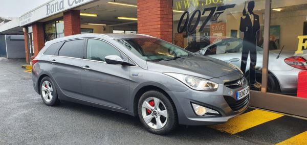 2012 (62) Hyundai i40 1.7 CRDi [136] Blue Drive Style 5dr Nav £30 Tax For Sale In Swansea, Glamorgan