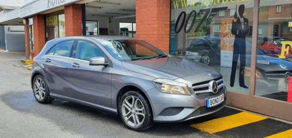2014 (64) Mercedes-Benz A Class A180 [1.5] CDI Sport 5dr Auto Nav £30 Tax For Sale In Swansea, Glamorgan