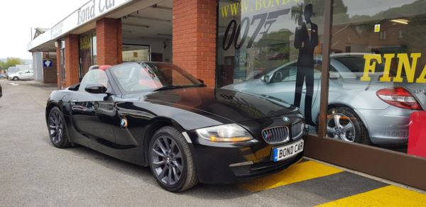 2007 (07) BMW Z4 2.0i SE 2dr (M Sport Styling) Convertible For Sale In Swansea, Glamorgan