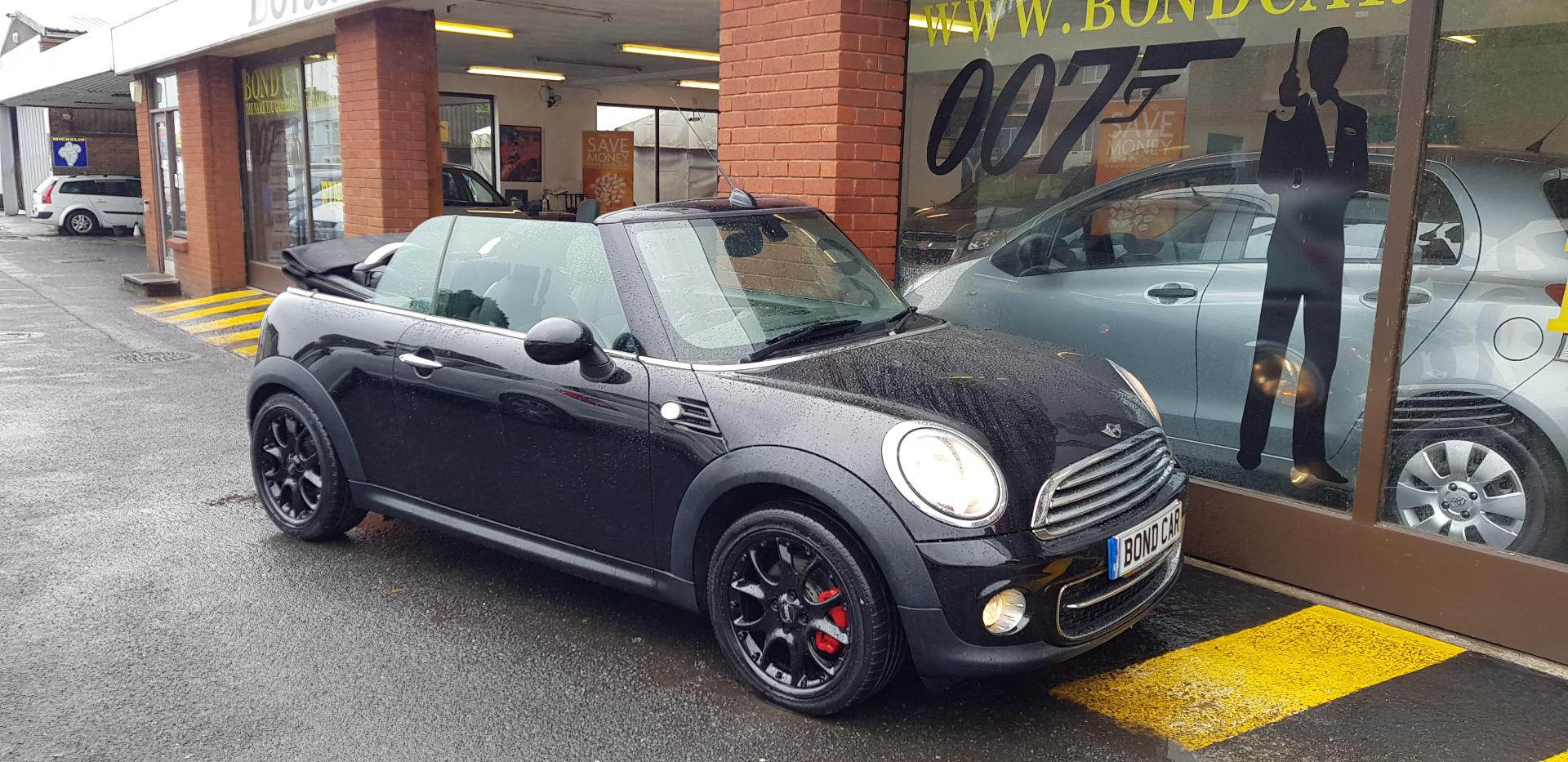 2011 (61) MINI Convertible 1.6 Cooper D 70 mpg £20 tax Convertible For Sale In Swansea, Glamorgan