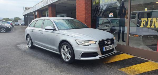 2014 (64) Audi A6 2.0 TDI Ultra S Line 5dr Satnav/Leather £30 Tax For Sale In Swansea, Glamorgan