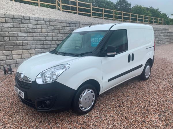 2015 (65) Vauxhall Combo (65) 2000 1.3 CDTI 16V H1 Van only 40,000 miles For Sale In Redruth, Cornwall