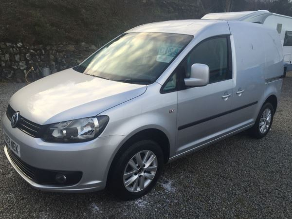 2012 (62) Volkswagen Caddy 1.6 TDI 75PS Highline Van For Sale In Redruth, Cornwall