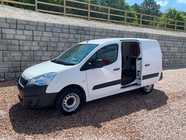 2017 (17) Peugeot Partner 750 S 1.6 BlueHDi 100 Van [non Start Stop] lwb l2 For Sale In Redruth, Cornwall