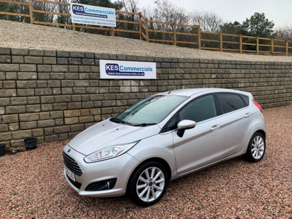 2015 (65) Ford Fiesta (65) 1.0 EcoBoost 125 Titanium 5dr only 53000 miles For Sale In Redruth, Cornwall