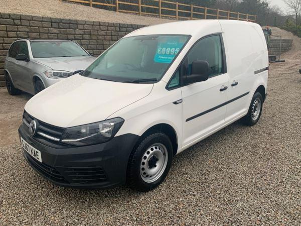 2017 (67) Volkswagen Caddy 2.0 TDI BlueMotion Tech 102PS Startline Van For Sale In Redruth, Cornwall