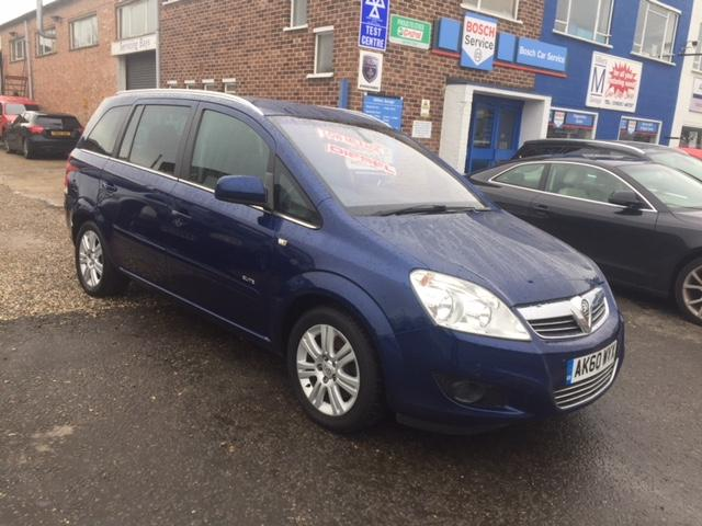 Used Vauxhall Zafira 1.9 CDTi Elite [120] 5dr Auto 5 Doors MPV for on