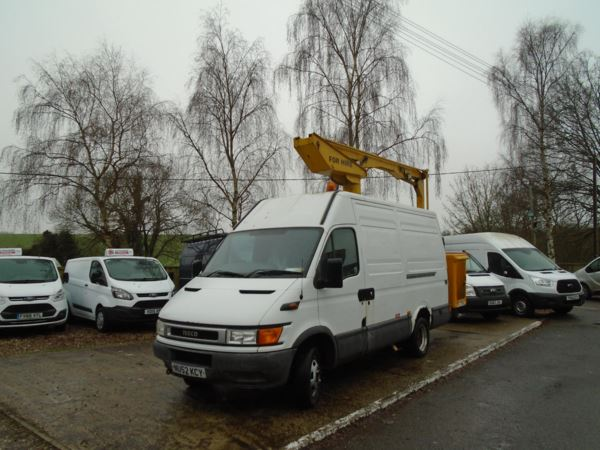 2002 (52) Iveco Ford DAILY 2000 50C11 2.8 TD MWB CHERRY PICKER (NO VAT) For Sale In Little Kings Hill, Great Missenden