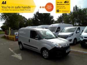 2013 13 Vauxhall Combo 2000 1.6 CDTI 16V H1 VAN TECSHIFT AUTOMATIC (NO VAT) Doors Van