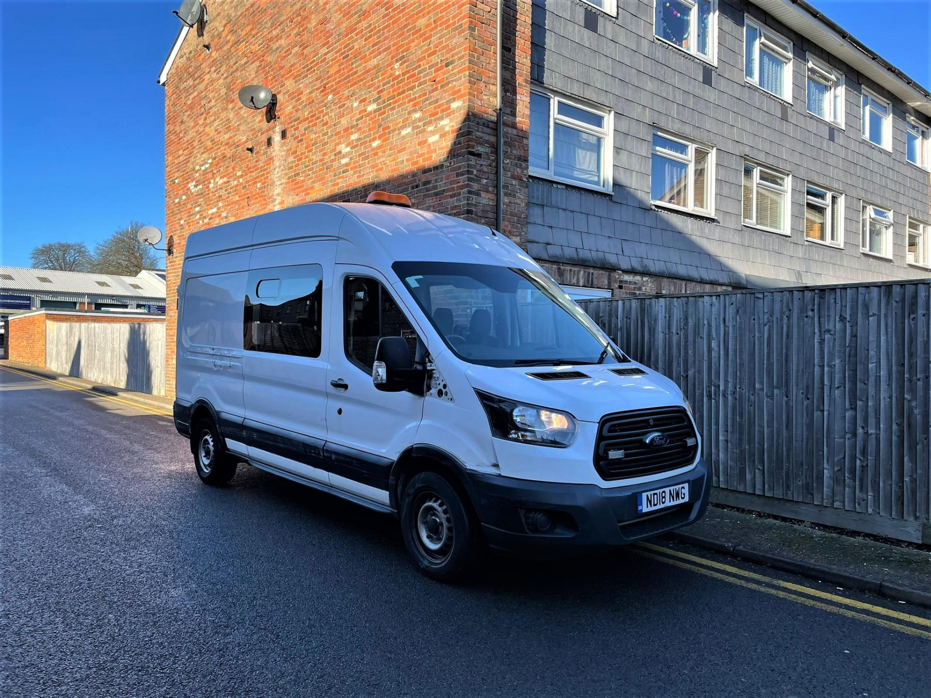 2018 (18) Ford Transit 350 EcoBlue FWD For Sale In Chesham, Buckinghamshire