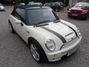 2005 55 MINI Convertible 1.6 Cooper S 2dr A/C HEATED LEATHER REAR PDC 2 Doors CONVERTIBLE
