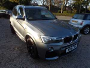 2016 16 BMW X3 xDrive20d SE 5dr Step Auto CRUISE LEATHER SAT NAV F/R PDC FSH 5 Doors ESTATE