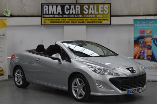 2009 (59) Peugeot 308 1.6 VTi SE 2dr LOW MILEAGE For Sale In Lydney, Gloucestershire