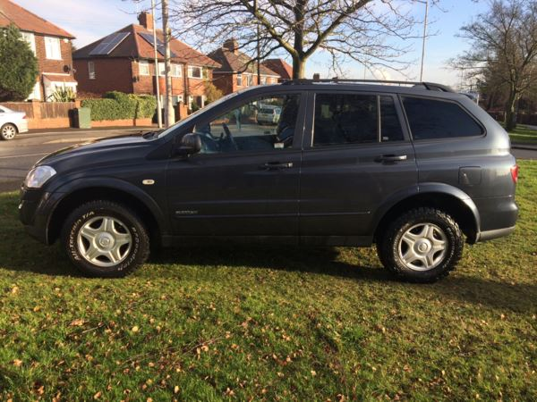 2008 (58) Ssangyong Kyron 2.0 CS 5dr 4WD Auto COMMERCIAL ** NO VAT, NO VAT ** For Sale In Rainworth, Mansfield