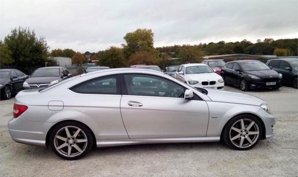 2012 (12) Mercedes-Benz C Class C180 BlueEFFICIENCY AMG Sport Edition 125 2dr For Sale In Rainworth, Mansfield
