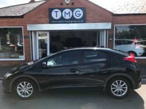 2012 (62) Honda Civic 1.4 i-VTEC SE 5dr For Sale In Rainworth, Mansfield