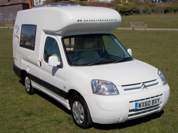 2010 (60) Romahome ROMAHOME R20 1.6HDi 800Kg LX ROMAHOME HI LO R20 DINETTE For Sale In Broadstairs, Kent