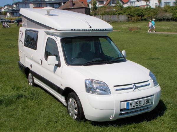 2009 (59) Citroen ROMAHOME R20 HYLO 1.6HDi ROMAHOME HI LO R20 DINETTE ONLY 15000 MILES ONE OWNER !!! For Sale In Broadstairs, Kent