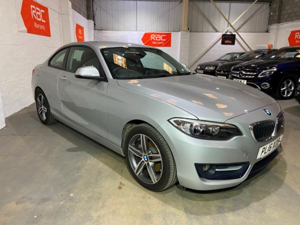 2016 (16) BMW 2 Series 220i Sport 2dr [Nav] Step Auto For Sale In Witney, Oxfordshire