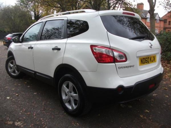 2010 (60) Nissan Qashqai 1.6 QASHQI 7 SEATER +7 SEATER TOP SPEC + WARRANTY PACKAGE INCLUDED CHEAP IN For Sale In Leicester, Leicestershire