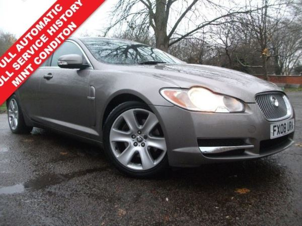 2008 (08) Jaguar XF 2.7d Premium Luxury 4dr+AUTOMATIC+12 MONTHS MOT+IMMACULATE CONDITION For Sale In Leicester, Leicestershire