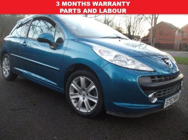 2007 (57) Peugeot 207 1.6 VTi Sport [120] 3dr+AUTOMATIC+IDEAL FIRST CAR+12 MONTHS MOT INCLUDED For Sale In Leicester, Leicestershire