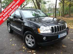 2005 55 Jeep Grand Cherokee 3.0 CRD Limited 5dr Auto 12 MONTHS MOT + AUTOMATIC + LEATHER 5 Doors 4x4
