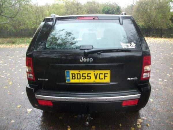 2005 (55) Jeep Grand Cherokee 3.0 CRD Limited 5dr Auto 12 MONTHS MOT + AUTOMATIC + LEATHER For Sale In Leicester, Leicestershire