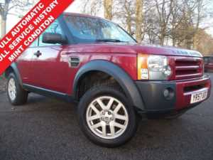 2007 57 Land Rover Discovery 2.7 Td V6 XS 5dr 7 SEATER + AUTOMATIC + LEATHER + FULL SERVICE HISTORY 5 Doors 4x4
