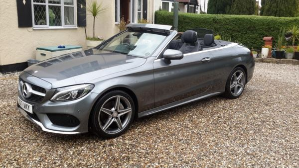 2017 (17) Mercedes-Benz C Class C220d AMG Line 2dr Auto For Sale In Waltham Abbey, Essex