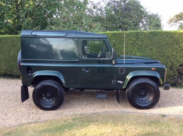 2000 (W) Land Rover Defender 90 county hard Top Td5 For Sale In Waltham Abbey, Essex