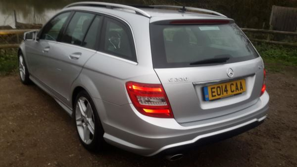 2014 (14) Mercedes-Benz C Class C220 CDI AMG Sport Edition 5dr Auto [Premium Plus] For Sale In Waltham Abbey, Essex