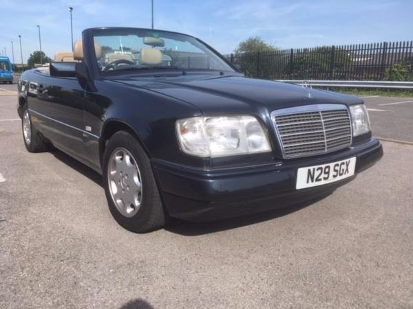 1996 Mercedes-Benz E Class E220 2dr Auto convertible sportline For Sale In Waltham Abbey, Essex