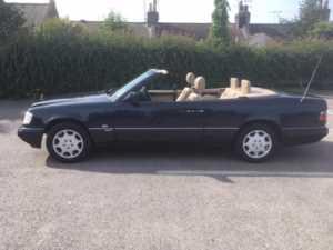 1996 Mercedes-Benz E Class E220 2dr Auto convertible sportline For Sale In Waltham Abbey, Essex