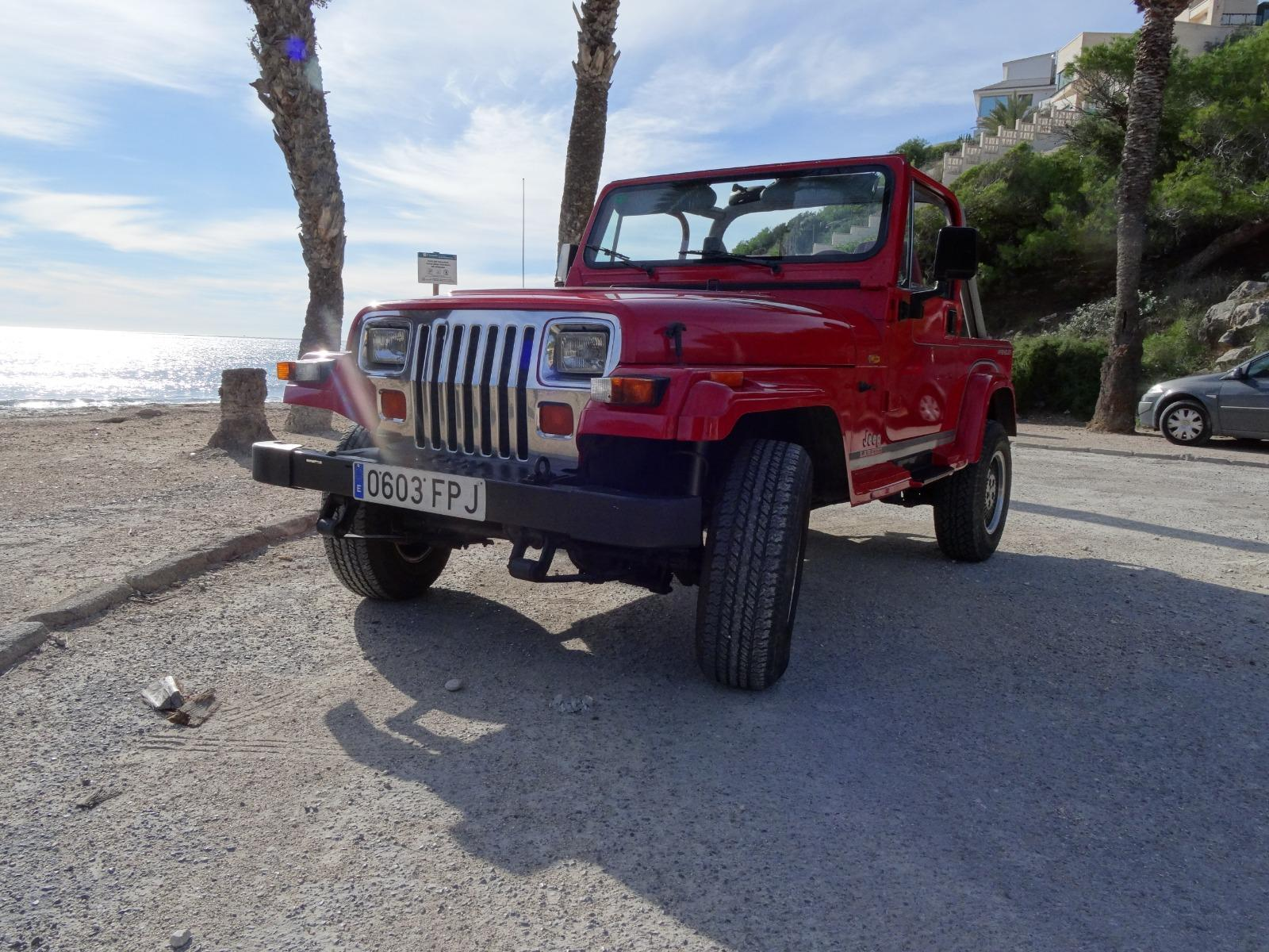 f5e6a6fde8 ... 1900 (H) Jeep Wrangler 4.0 2dr hard top left hand drive For Sale In ...