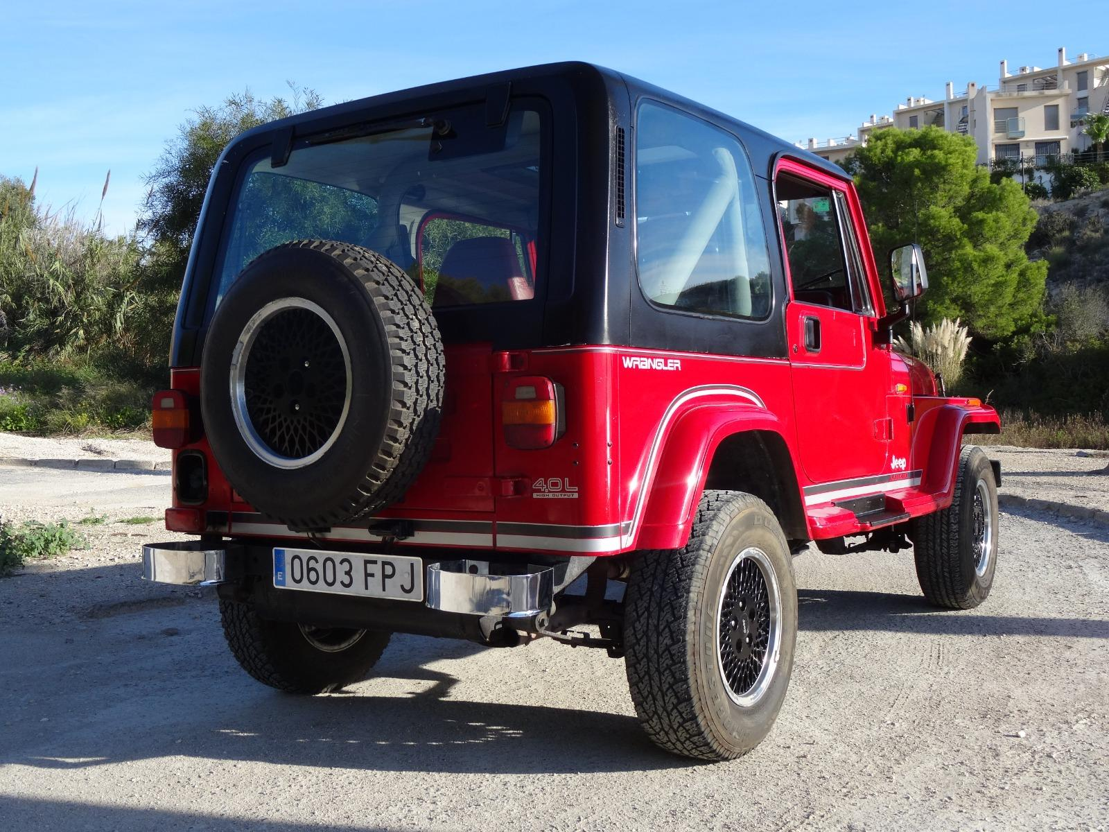 Used Jeep Wrangler 4.0 2dr hard top left hand drive 2 ...