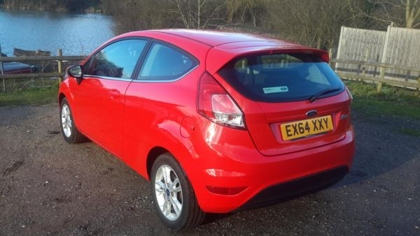 2014 (64) Ford Fiesta 1.25 82 Zetec 3dr For Sale In Waltham Abbey, Essex