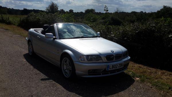 2002 (02) BMW 3 Series 330 Ci 2dr For Sale In Waltham Abbey, Essex