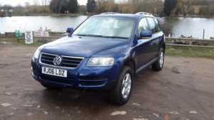 2006 (06) Volkswagen Touareg 2.5 TDI SE 5dr For Sale In Waltham Abbey, Essex