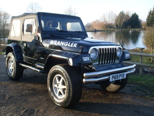 2002 (02) Jeep Wrangler 4.0 Sport For Sale In Waltham Abbey, Essex