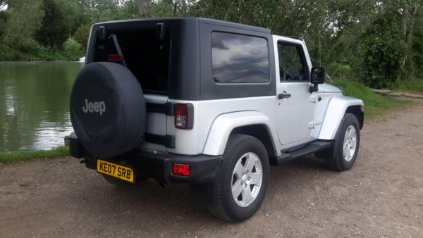 2007 (07) Jeep Wrangler 2.8 CRD Sahara 2dr Auto For Sale In Waltham Abbey, Essex