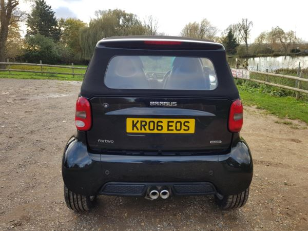 2006 (06) smart fortwo cabrio Brabus 2dr Auto For Sale In Waltham Abbey, Essex