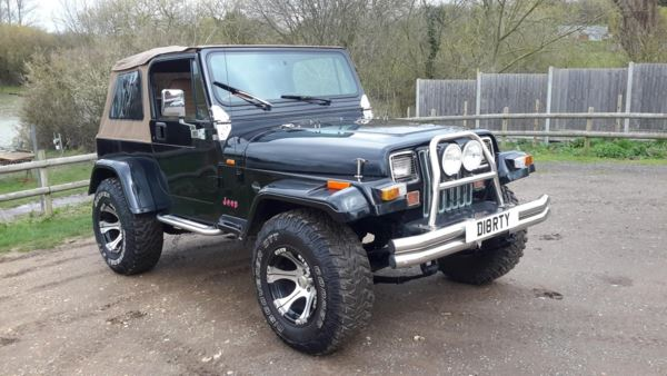 1994 (L) Jeep WRANGLER 4.0 LIMITED AUTO SOFT TOP For Sale In Waltham Abbey, Essex