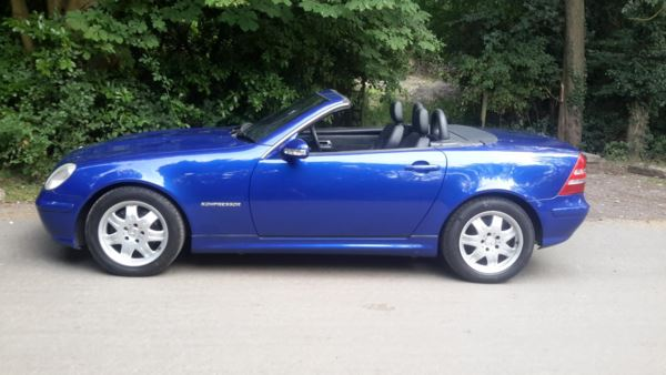 2002 (02) Mercedes-Benz SLK SLK 200K 2dr For Sale In Waltham Abbey, Essex