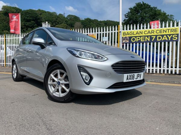 2018 (18) Ford Fiesta 1.1 Ti-VCT Zetec (s/s) 5dr For Sale In Port Talbot, West Glamorgan