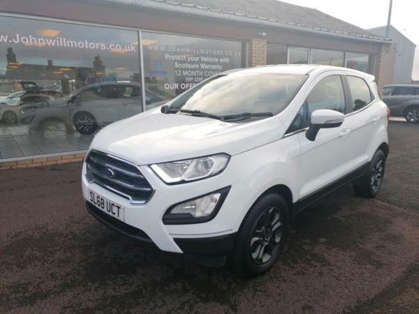 2018 (68) Ford Ecosport 1.0 EcoBoost Zetec With NAV.... For Sale In Dunfermline, Fife