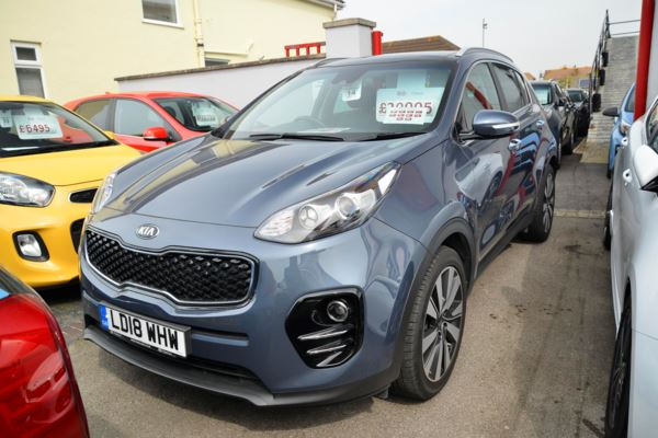 2018 (18) Kia Sportage 1.7 CRDi ISG 3 5dr DCT Auto [Panoramic Roof] For Sale In Lee on Solent, Hampshire