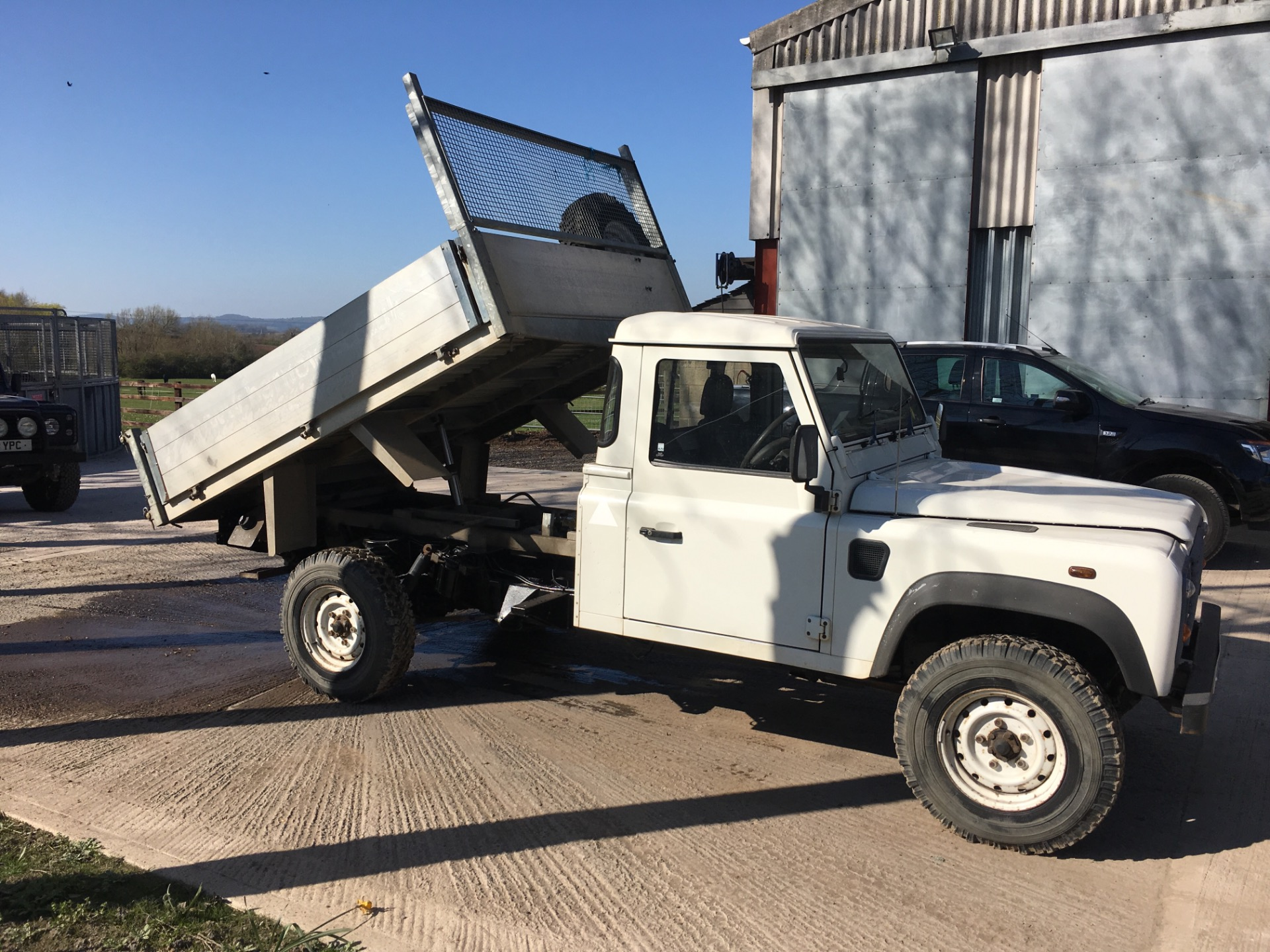 2007 (07) Land Rover Defender Chassis Cab Td5 For Sale In Tirley, Gloucestershire